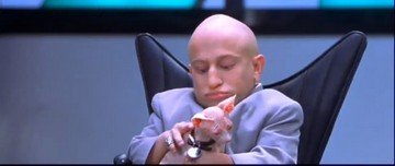 529: Austin Powers Goldmember Verne Troyer's Sphinx Cat - 4