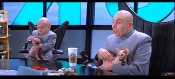 529: Austin Powers Goldmember Verne Troyer's Sphinx Cat - 6