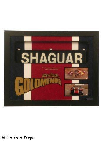 530:Austin Powers Goldmember Hero SHAGUAR License Plate