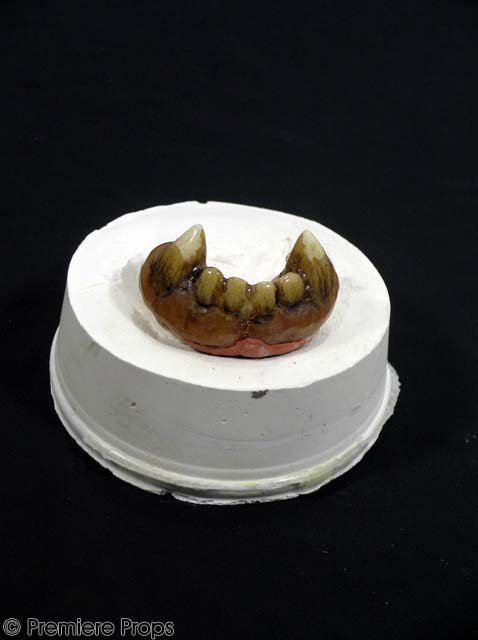 4: DUNGEONS & DRAGONS Half-Orc Teeth MOVIE PROPS