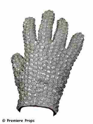 Michael Jackson Swarovski Personally Owned Crystal Glov