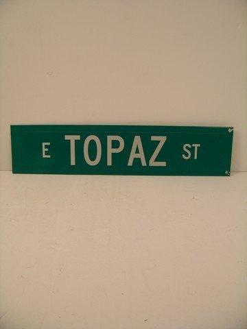 Man Of Steel Street Sign Prop