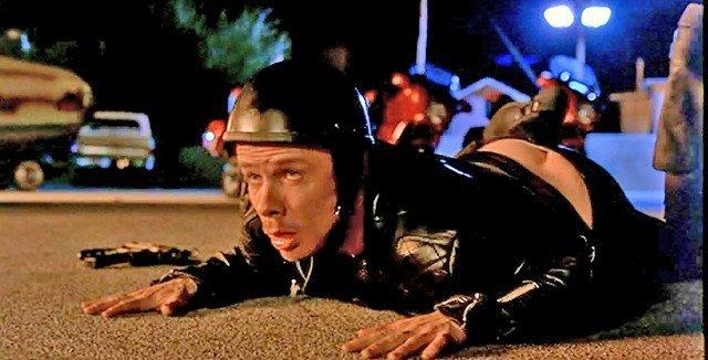 The Big Lebowski Kieffer (Flea) Motorcycle Costume - 5