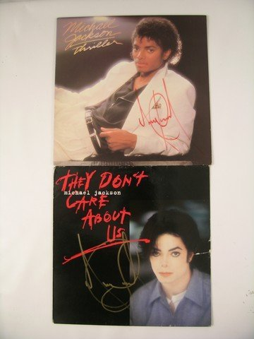Michael Jackson Thriller/They Don't Care About Us