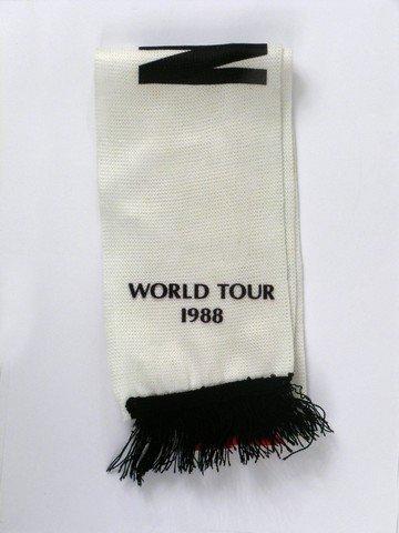 "Michael Jackson ""Bad"" World Tour Official Scarf. - 2"