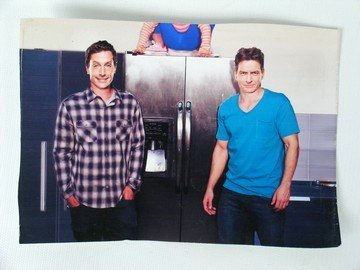 Scary Movie 5 Dan Simon Rex And Charlie Sheen Photo Jul 27 2013 Premiere Props In Ca