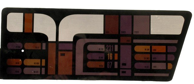 Star Trek: TNG Backlight Control Panel L-3