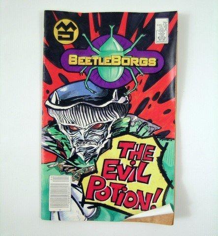 BeetleBorgs Comic Book Prop