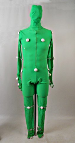 Knowing SFX Green Screen CGI Bodysuit Costume