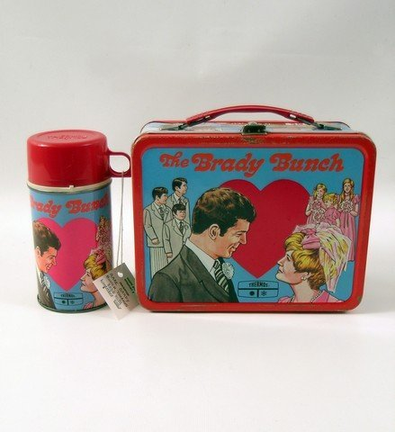 Brady Bunch 1970 Lunchbox and Thermos