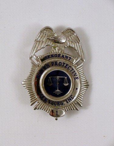 Avengers (1998) Hayes Sergeant Badge Prop