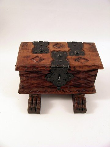 Pirates Of The Caribbean Dead Man's Chest Wood Chest