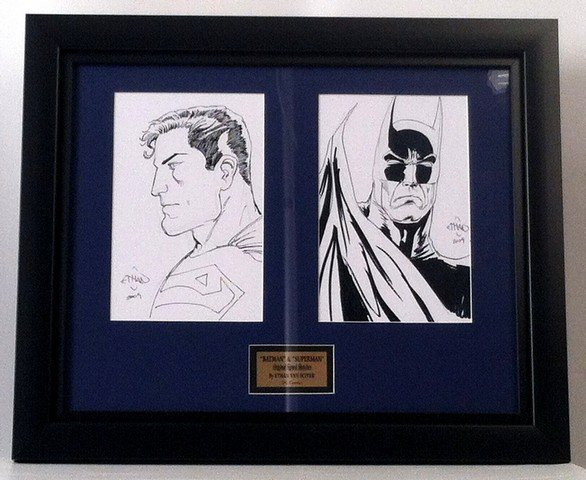 Superman/Batman Original Signed Original Artwork By