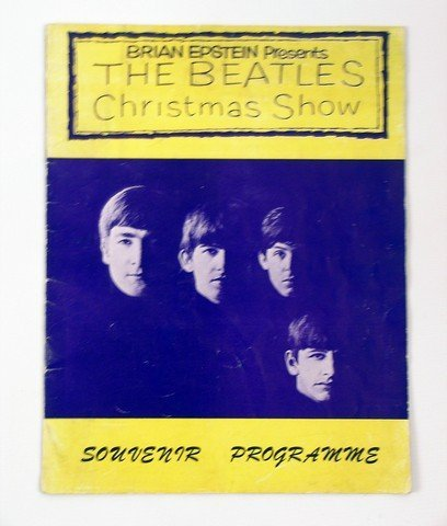 Brian Epstein Beatles Christmas Show Souvenir Program