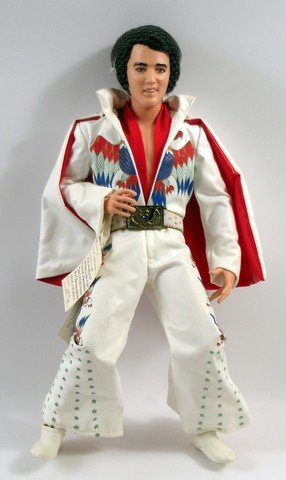 Elvis Presley World Doll All American Collectable