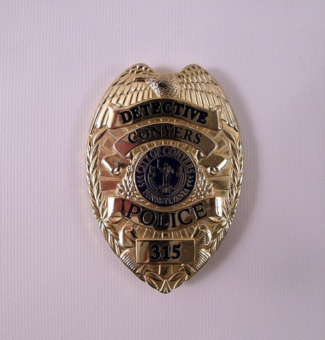 Prisoners Detective Loki (Jake Gyllenhaal) Badge Prop
