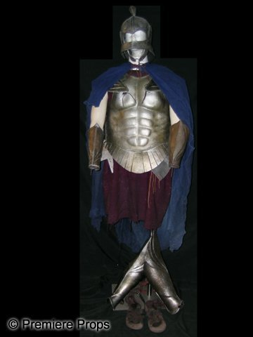 Immortals Hoplite Solder Costume & Premiere Props - Hollywood Famous Movie Props and Costumes