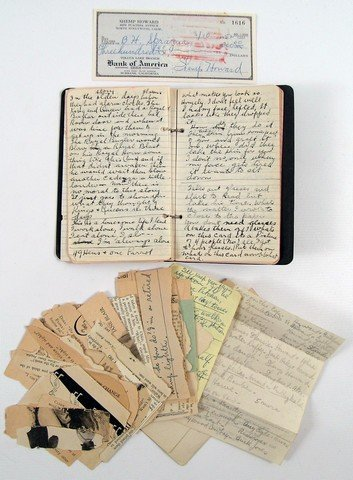 Shemp Howard (The Three Stooges) Personal Hand-written