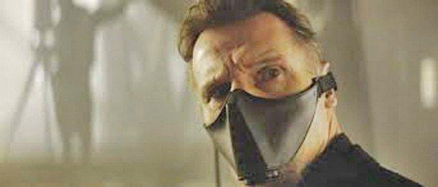 Batman Begins Ducard (Liam Neeson) Toxic Gas Mask Prop - 2