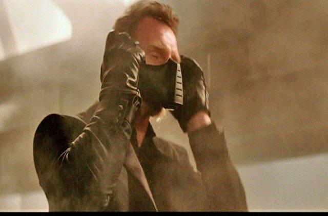 Batman Begins Ducard (Liam Neeson) Toxic Gas Mask Prop - 3