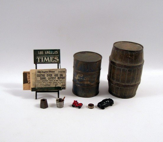 1941 Screen Used Miniature Props