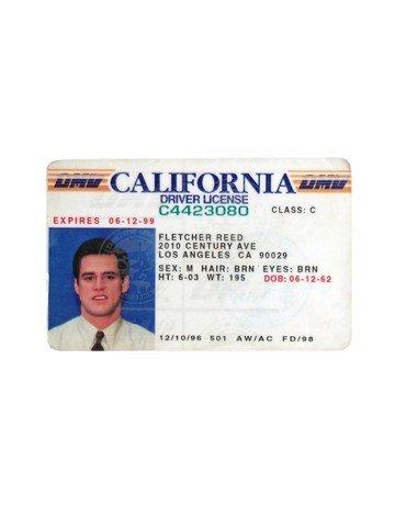 Liar Liar Fletcher Reede (Jim Carrey) California Driver