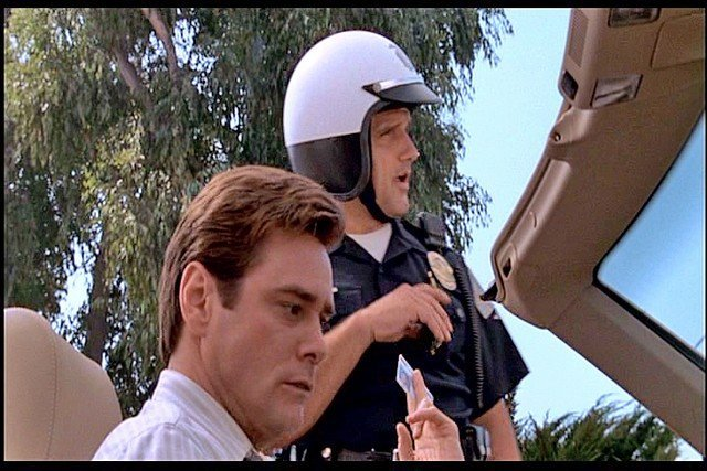 Liar Liar Fletcher Reede (Jim Carrey) California Driver - 2