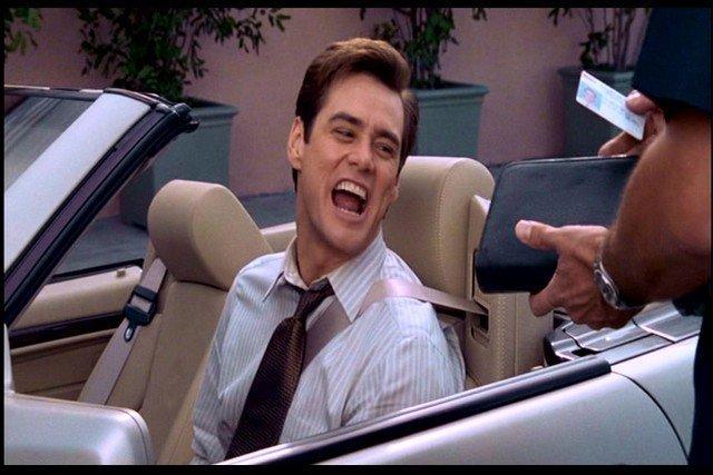 Liar Liar Fletcher Reede (Jim Carrey) California Driver - 5