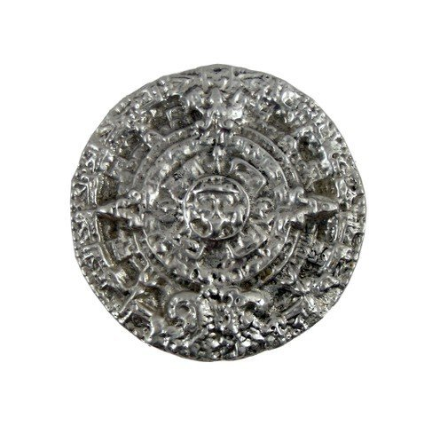 Indiana Jones Crystal Skull Aztec Calendar Medallion
