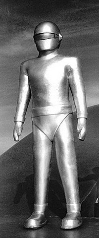 Day The Earth Stood Still (1951) Fred Barton Gort Head - 4