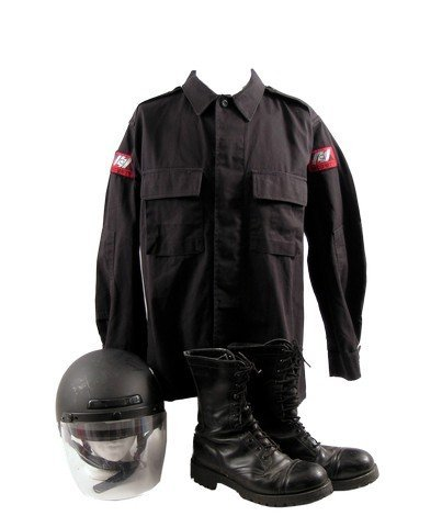 Blade II Damaskinos Forces Uniform Movie Costumes