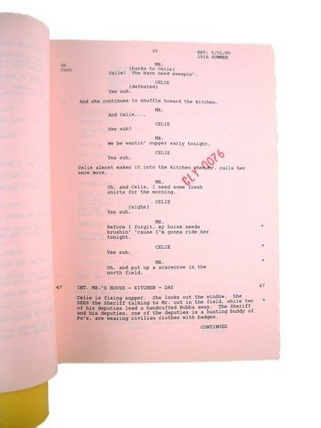 The Color Purple (Moon Song) Production Screenplay - 2