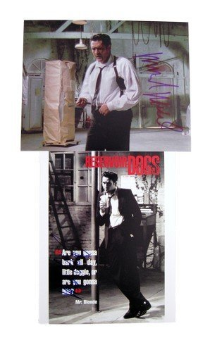 Reservoir Dogs Mr. Blonde Michael Madson Signed Photos