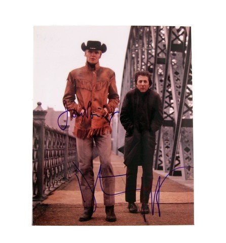 Midnight Cowboy Dustin Hoffman/Jon Voight Autographed