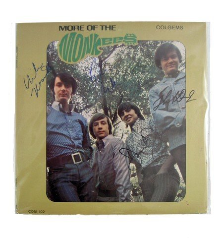 The Monkees More Of The Monkees Album Signed By All