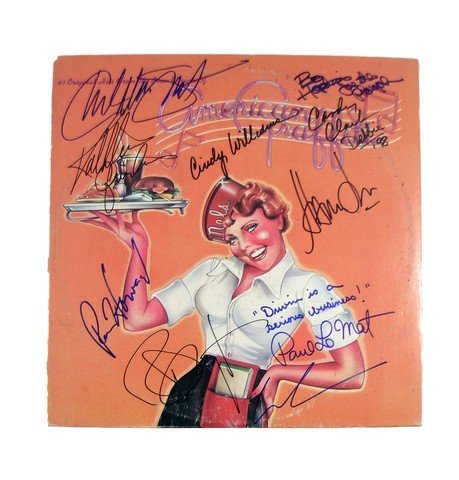 American Graffiti Soundtrack Signed By Lead Cast and