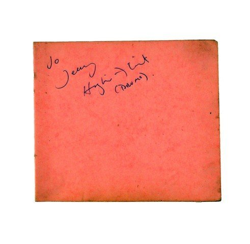 Hughie Flint Autograph