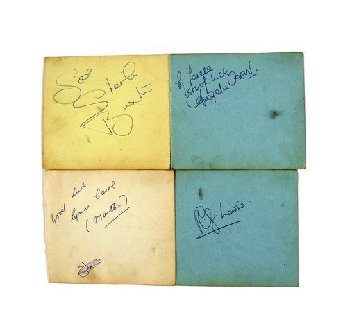 Coronation Street Autographs Of Angela Crow, Betty