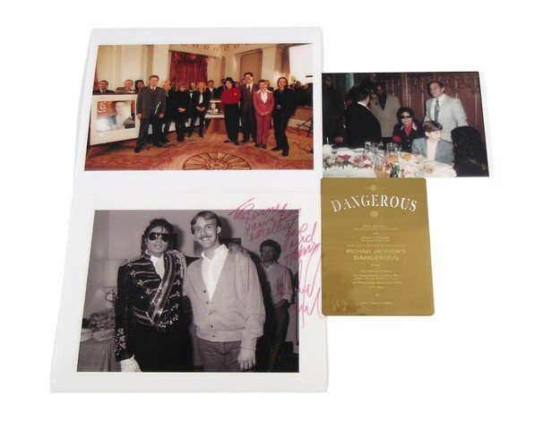 Michael Jackson Rare Brass London Dangerous Album