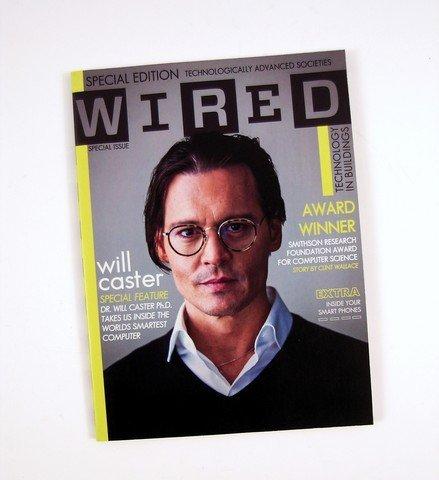 Transcendence Will Caster (Johnny Depp) 'Wired' Movie