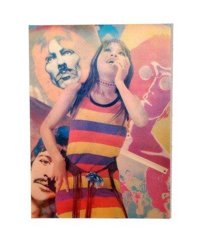 Beatles Avedon Lenticular Postcard (circa 1968)