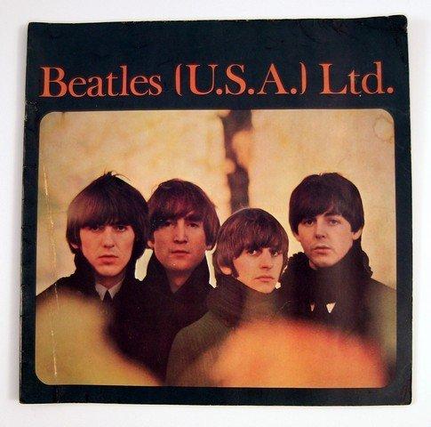 Beatles US Tour Program