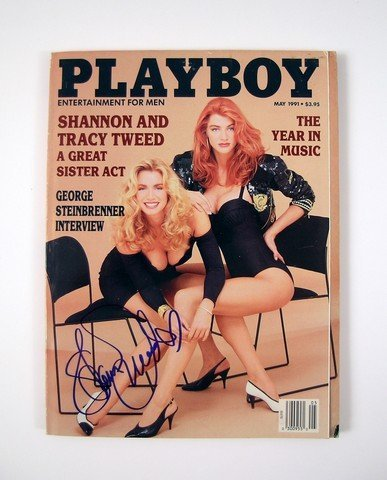 Shannon Tweed Autographed Playboy Magazine