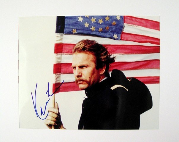 Dances with Wolves Photo Signed by Kevin Costner