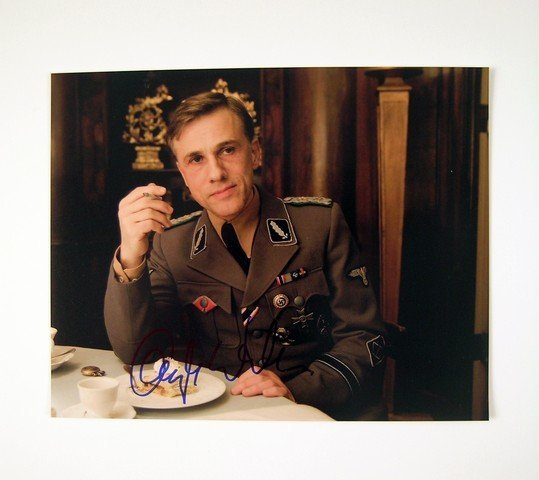 Inglourious Basterds Photo Signed by Christoph Waltz