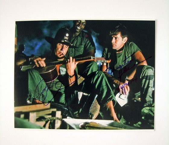 Apocalypse Now Photo Signed by Robert Duvall