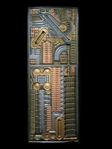 Star Trek: First Contact Borg Regeneration Alcove Panel