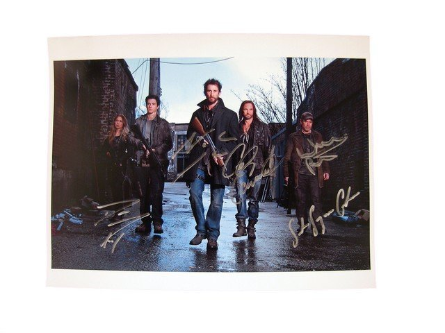 Falling Skies Cast Signed Photo