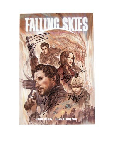 Falling Skies Dark Horse Actor Signed Graphic Novel