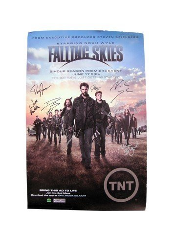 Falling Skies Cast Signed Poster